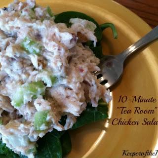 "10-Minute ""Tea Room"" Chicken Salad"