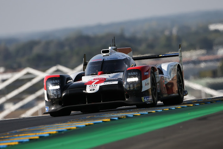 Kamui Kobayashi put Toyota's number seven car on pole position on Friday for the 2020 Le Mans 24 Hour.