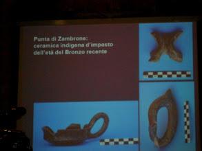 Photo: Reperti 3 scavi Punta Zambrone