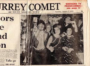 Photo: SURREY COMET January 3, 1976 (1/2) サリー・コメット紙 (1/2)