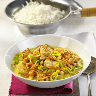 Fish and Cashew Curry