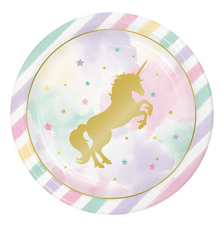 Tallrikar - Unicorn Sparkle