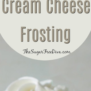 Stevia Cream Cheese Frosting.