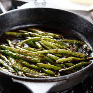 Blistered Green Beans.