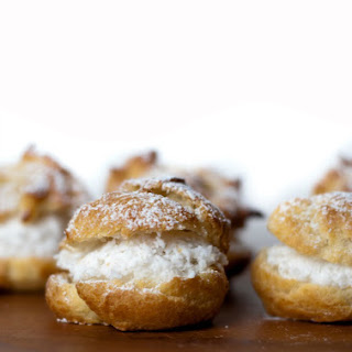 Coconut Cream Puffs