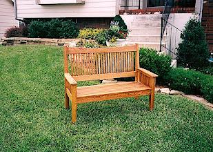 Photo: Garden Bench