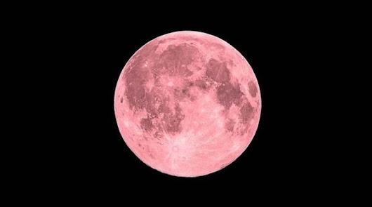 La superluna rosa llega en la noche del 26 al 27 de abril