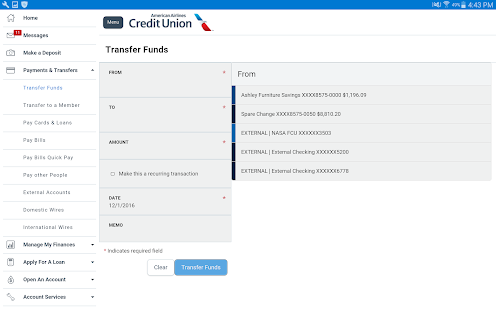 American Airlines Credit Union- screenshot thumbnail