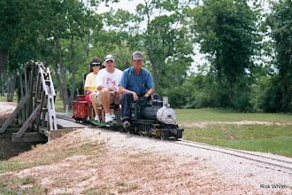 Photo: Reta Mattison, Brent Courtney, and Harvey Mattison   SWLS - HALS 2001-0526