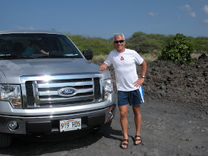Photo: Our rental vehicle - please don't tell where all I took it!