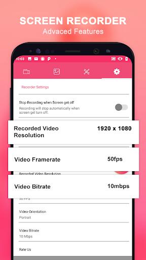 Screen Video Recorder  &  Screenshot 1.7 screenshots 3