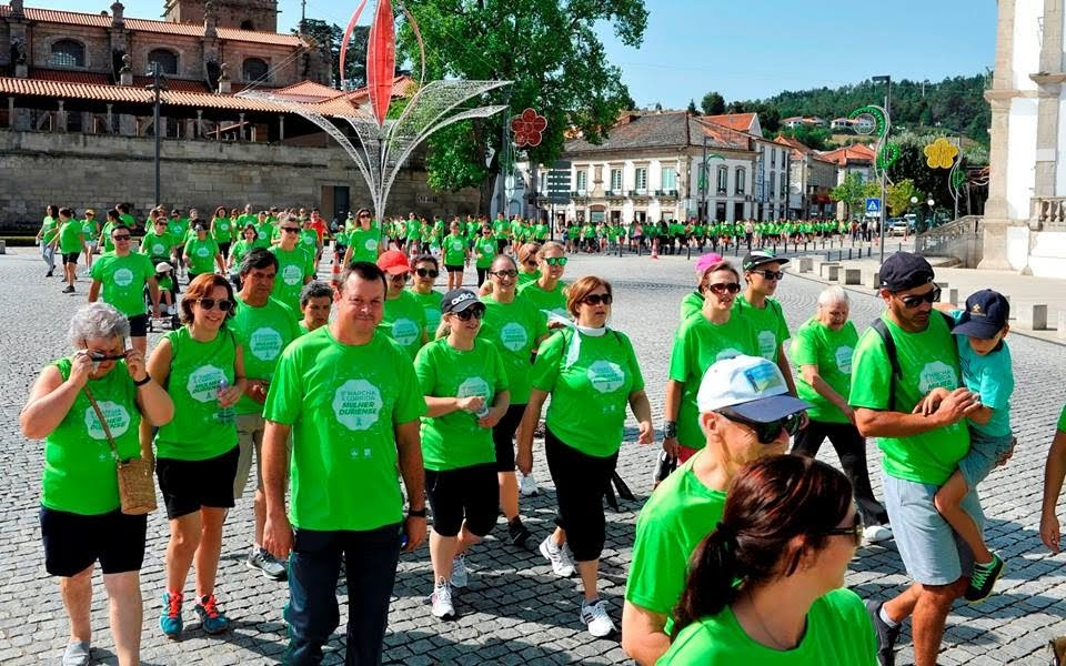 Lamego marchou a favor da Liga Portuguesa Contra o Cancro