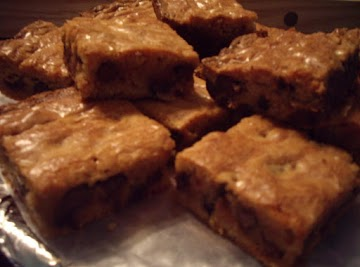 Hershey's Peanut Butter Chocolate Chip Brownies Recipe