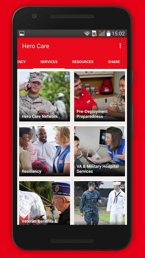 Hero Care - American Red Cross- screenshot