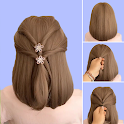 Hairstyles for short hair Girls icon