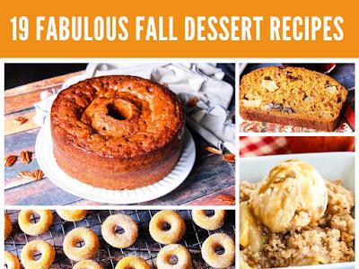 19 Fabulous Fall Dessert Recipes