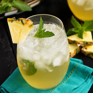 Pineapple Mint Julep Sangria