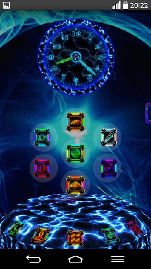 Next Launcher Theme ENERGYSHOW- screenshot