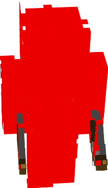 A red guy. DON'T BE RACIST!