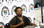 Acting Director General of GCIS, Phumla Williams giving evidence at the state capture commission of inquiry sitting at Parktown, Johannesburg, on Monda, September 3 2018.
