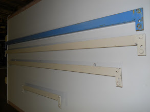 Photo: 14 and 11 gauge riv rack beams