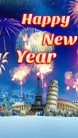 android New Year Wish SMS Screenshot 0