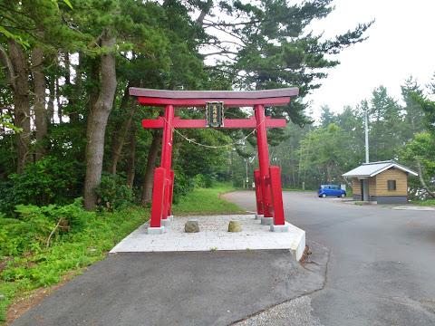 尾崎神社の鳥居
