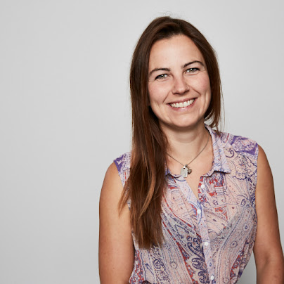 woman with brown hair smiling, Founders Academy, Google for Startups