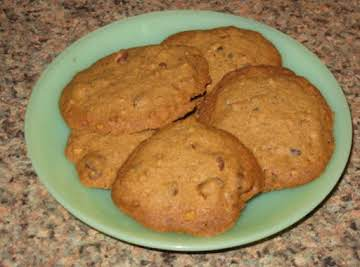 Gluten-free Java pecan chocolate chip cookies