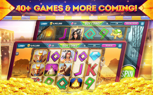 Pharaohs of Egypt Slots u2122 Free Casino Slot Machine 1.45.4 screenshots {n} 10
