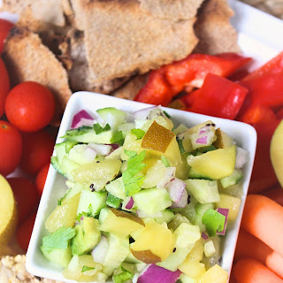 Kiwi and Cucumber Salsa