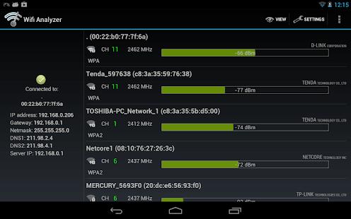 App Wifi Analyzer APK for Windows Phone