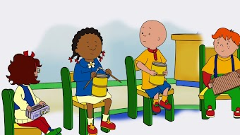 Copycat Clementine/Caillou's Poster/Playhouse Play Date