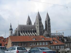 Photo: de Onze Lieve Vrouw Kathedraal van Doornik