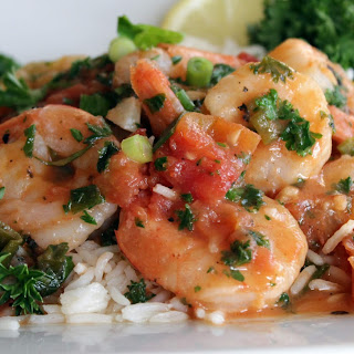 Shrimp Scampi With Diced Tomatoes Recipes.