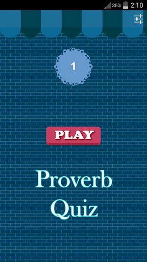 Proverb Quiz