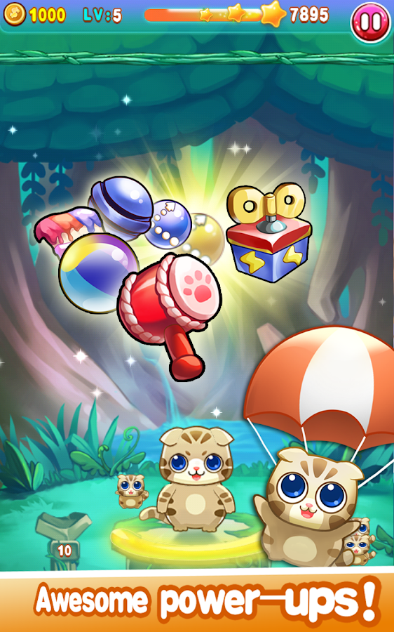 Bubble Cat 2- screenshot
