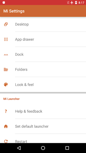 Mi Launcher 1.1.1 screenshots 4