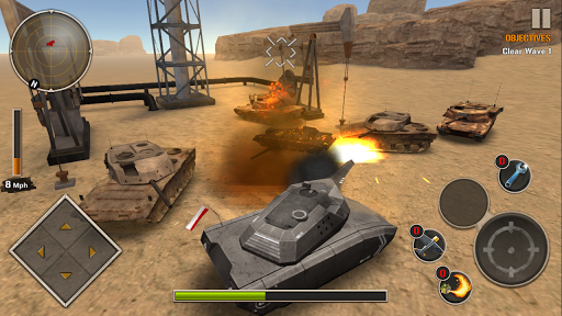 Modern Tank Force: War Hero 1.21 screenshots 4