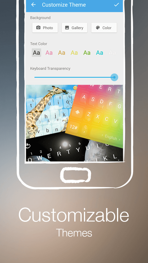 TouchPal Keyboard - Cute Emoji screenshot #5