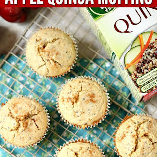 Apple Quinoa Breakfast Muffins.