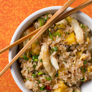 Crab Fried Rice with Pineapple.