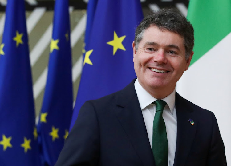 Irish finance minister Paschal Donohoe. Picture: YVES HERMAN/REUTERS