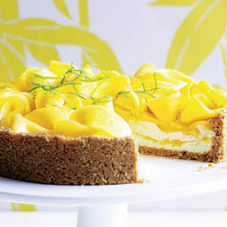 Mango Lime Cheesecake
