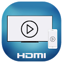 HDMI MHL USB Connector phone with TV icon
