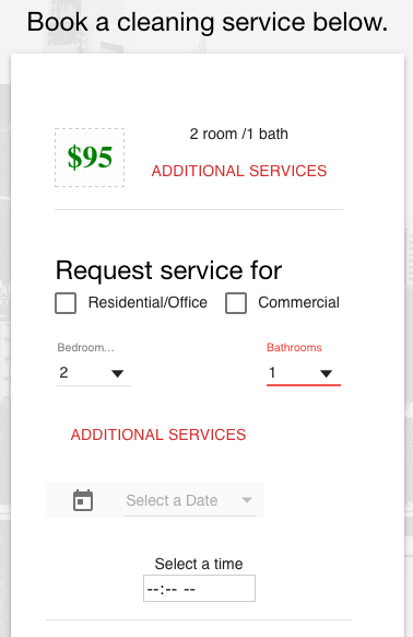 DG Cleaning Services- screenshot