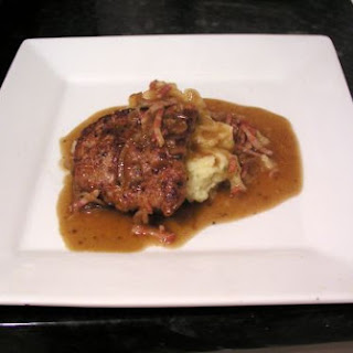 Pan-fried Calves Liver with Champ & Gravy