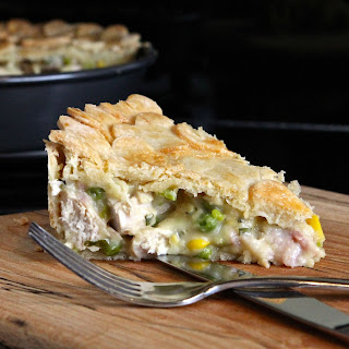 Chicken & Tarragon Pie (gluten free)