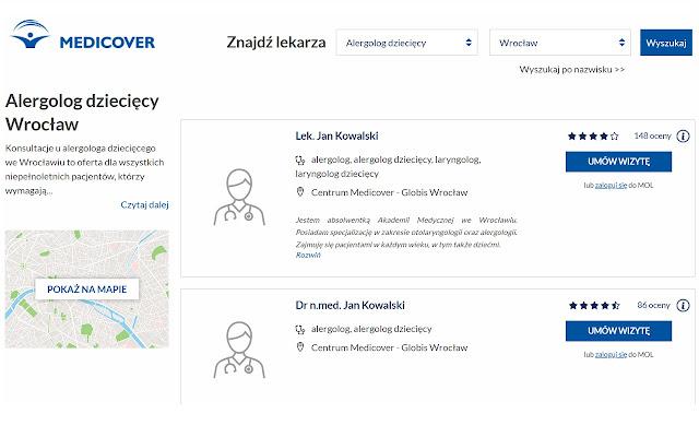 ZnanyMedico - Medicover + ZnanyLekarz