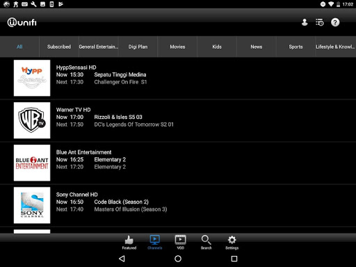 playtv@unifi (tablet)  screenshots 3